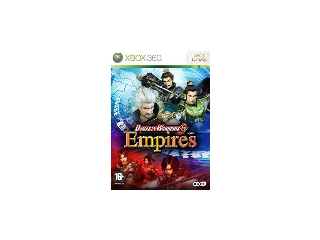 X360 Dynasty Warriors 6 Empires