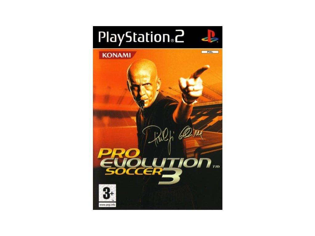 PS2 Pro Evolution Soccer 3