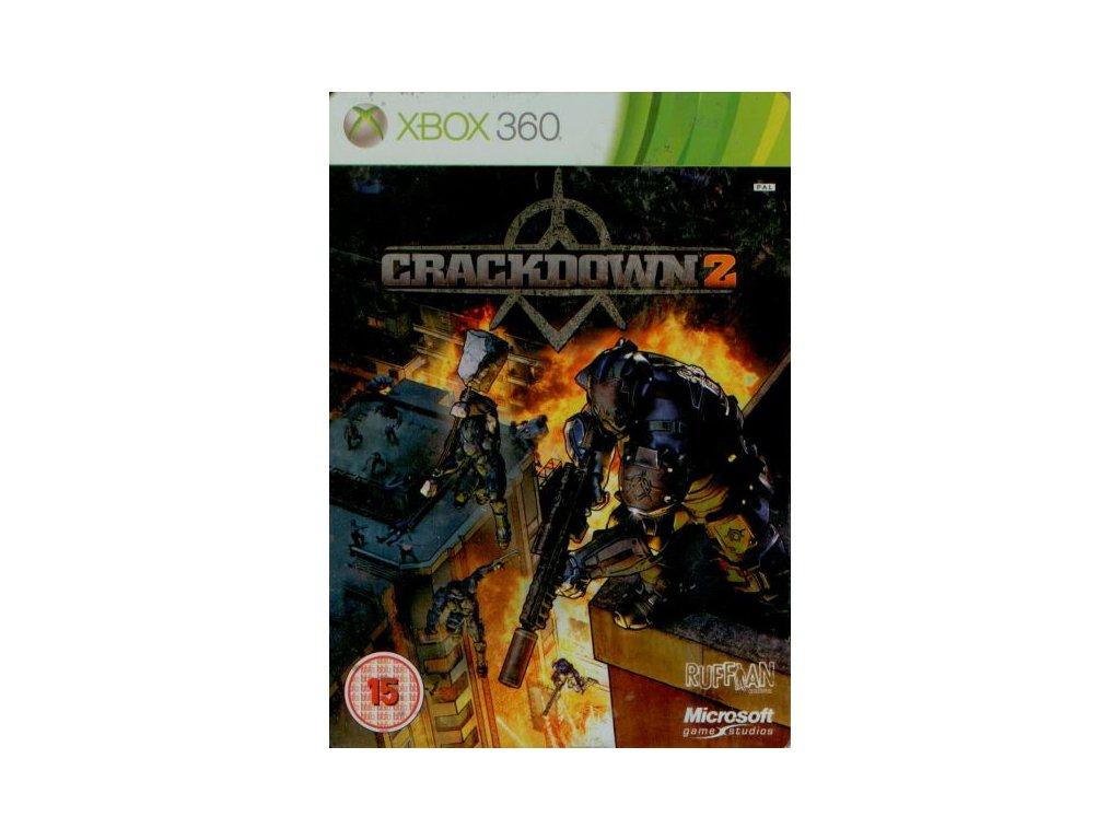 X360 Crackdown 2 Steelbook CZ