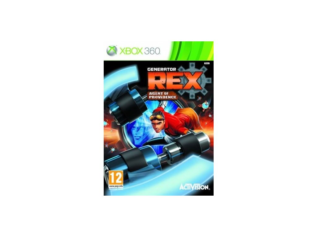 X360 Generator Rex Agent of Providence