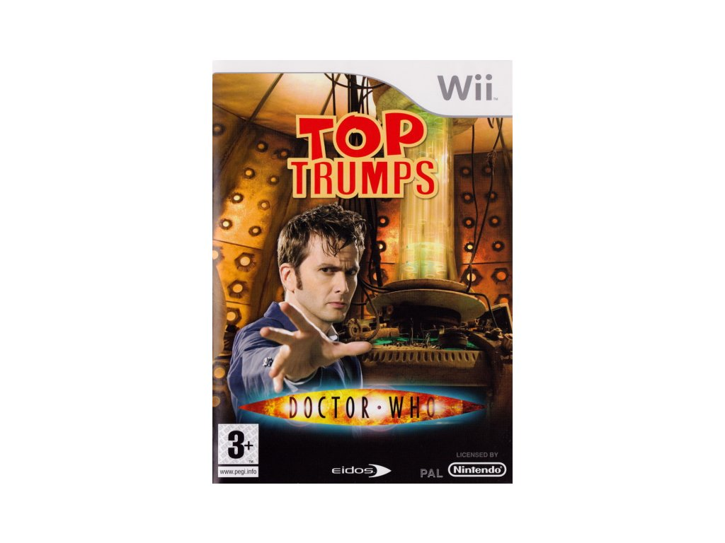 Wii Top Trumps Dr Who