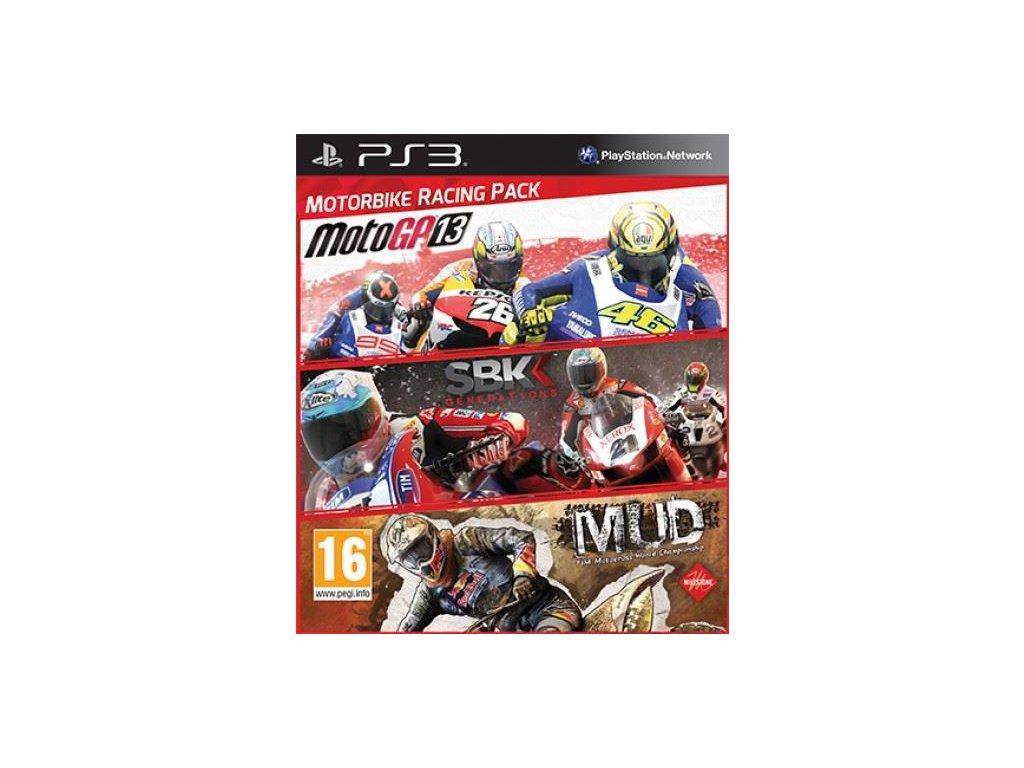 PS3 Motorbike Racing Pack MotoGP 13 + SBK Generations + MUD
