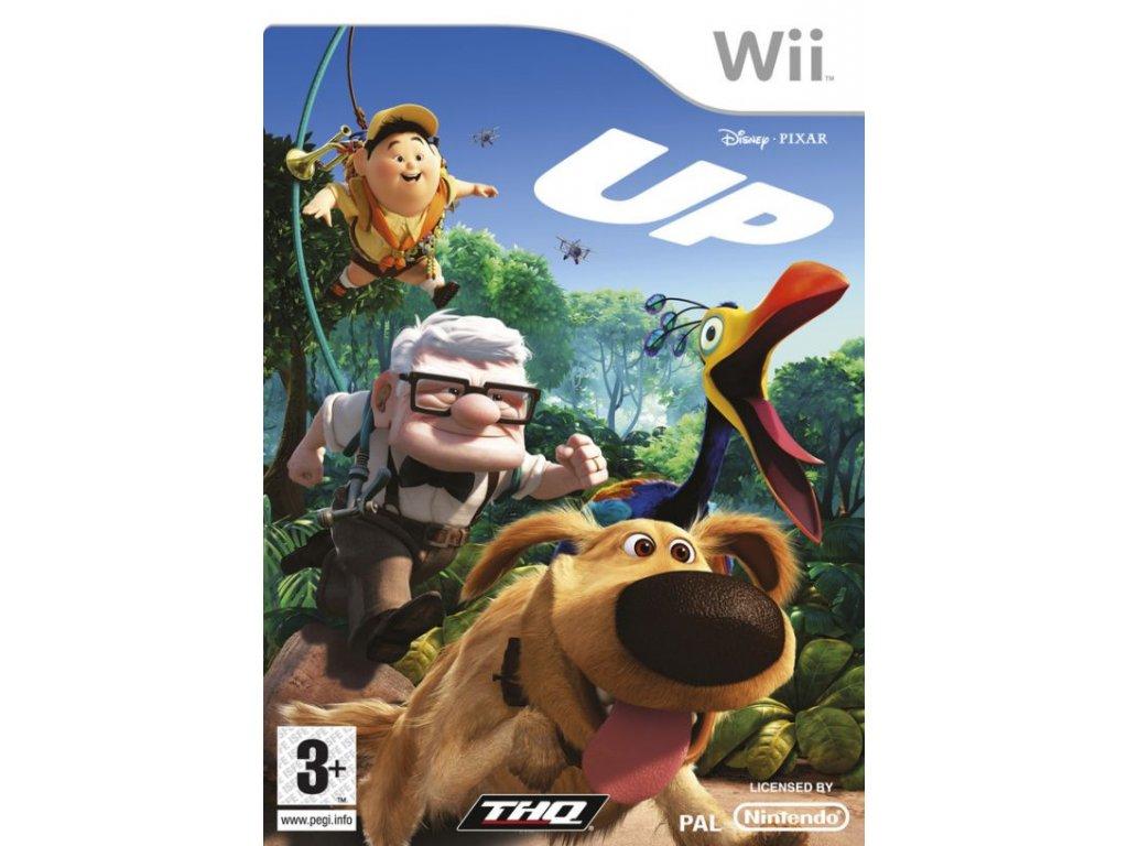 Wii Disney PIXAR UP Vzhůru do Oblak