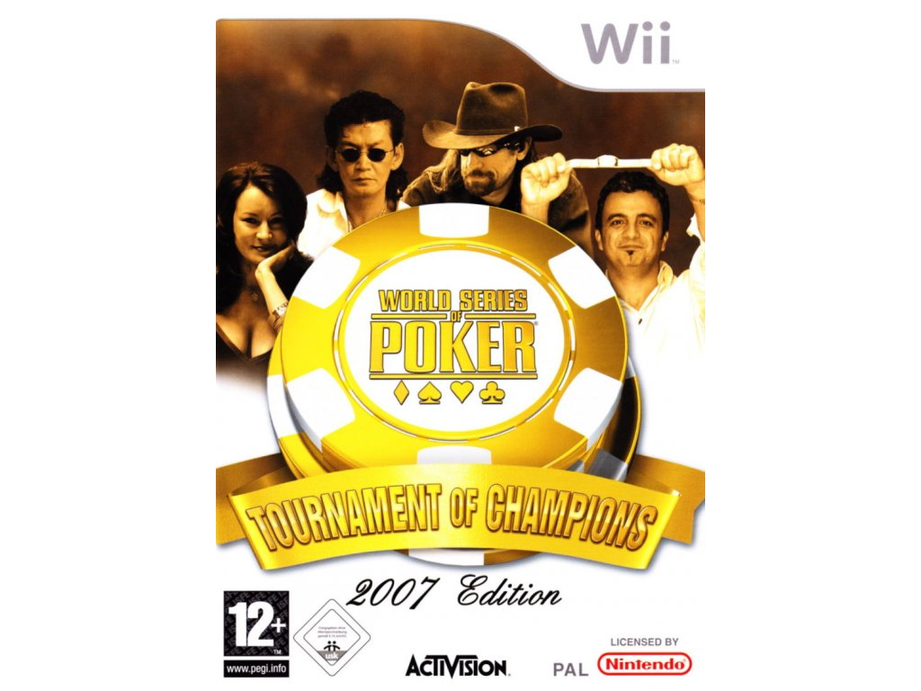 Wii World Series of Poker Tournament Champions