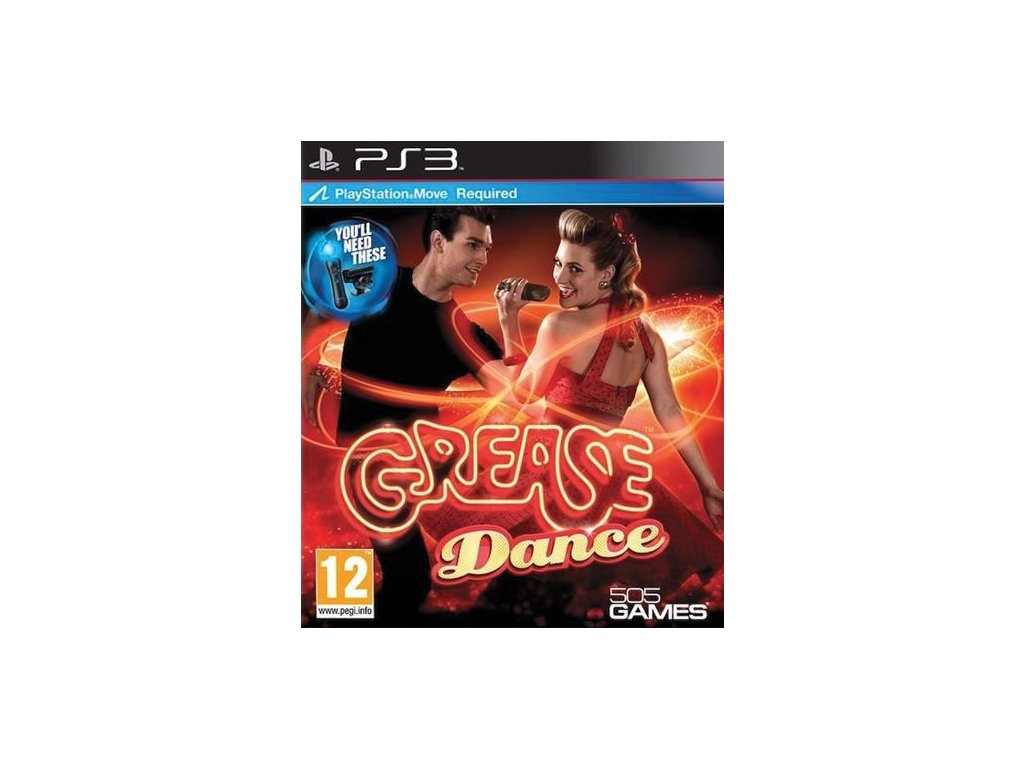 PS3 Grease Dance