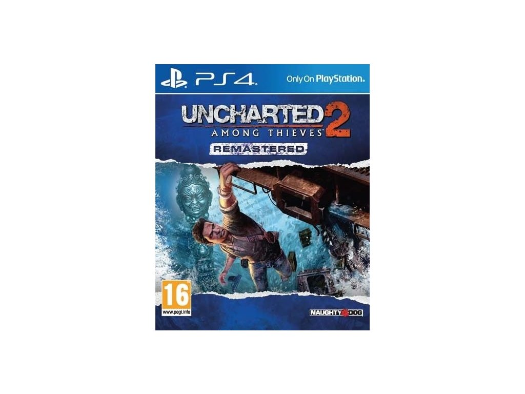 PS4 Uncharted 2 Among Thieves Remastered