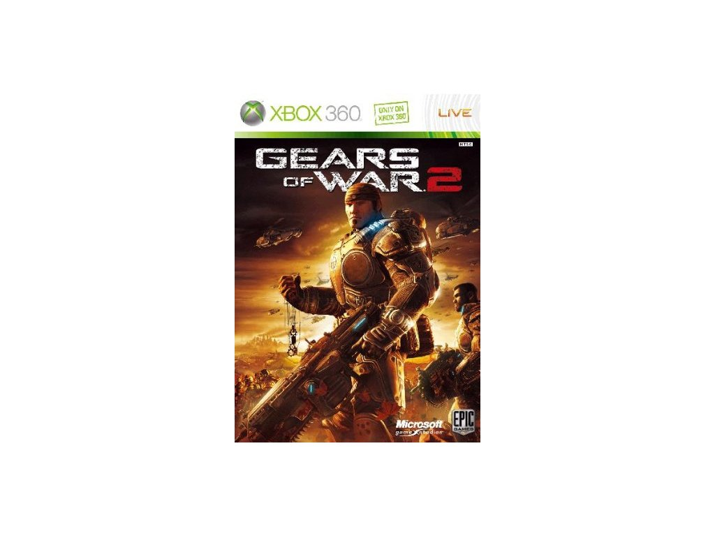X360 Gears of War 2 CZ