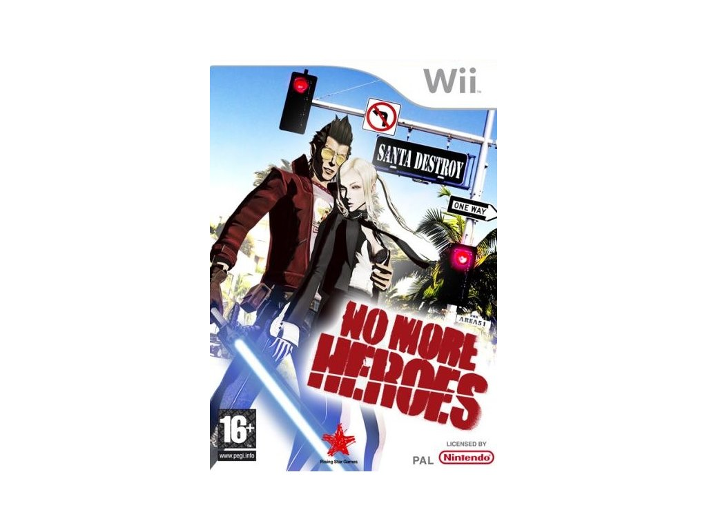 Wii No More Heroes