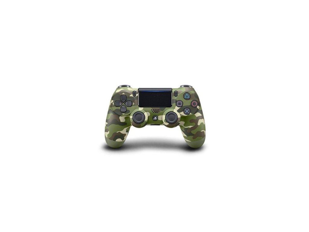 PS4 Sony DualShock 4 Green Cammo V2