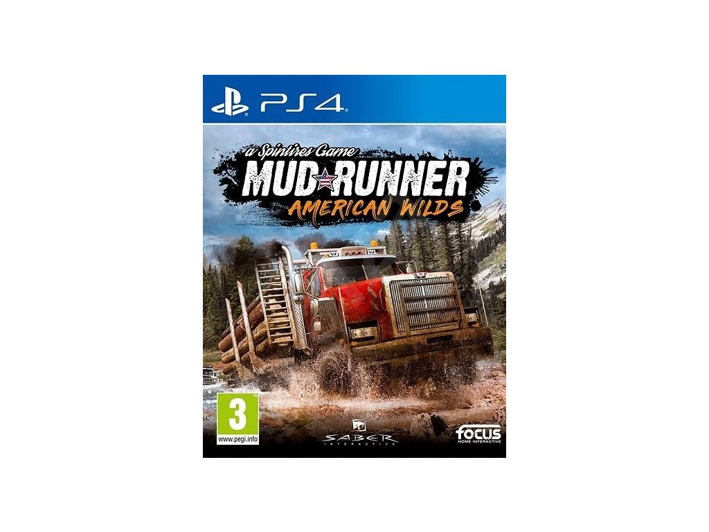 PS4 MudRunner American Wilds