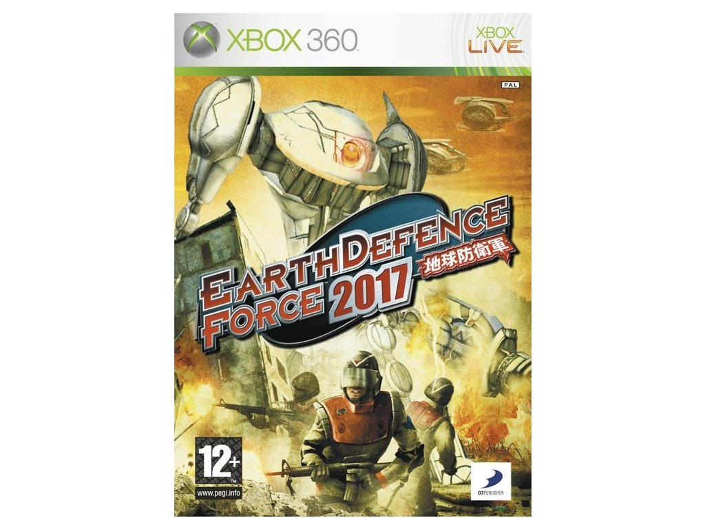 X360 Earth Defence Force 2017