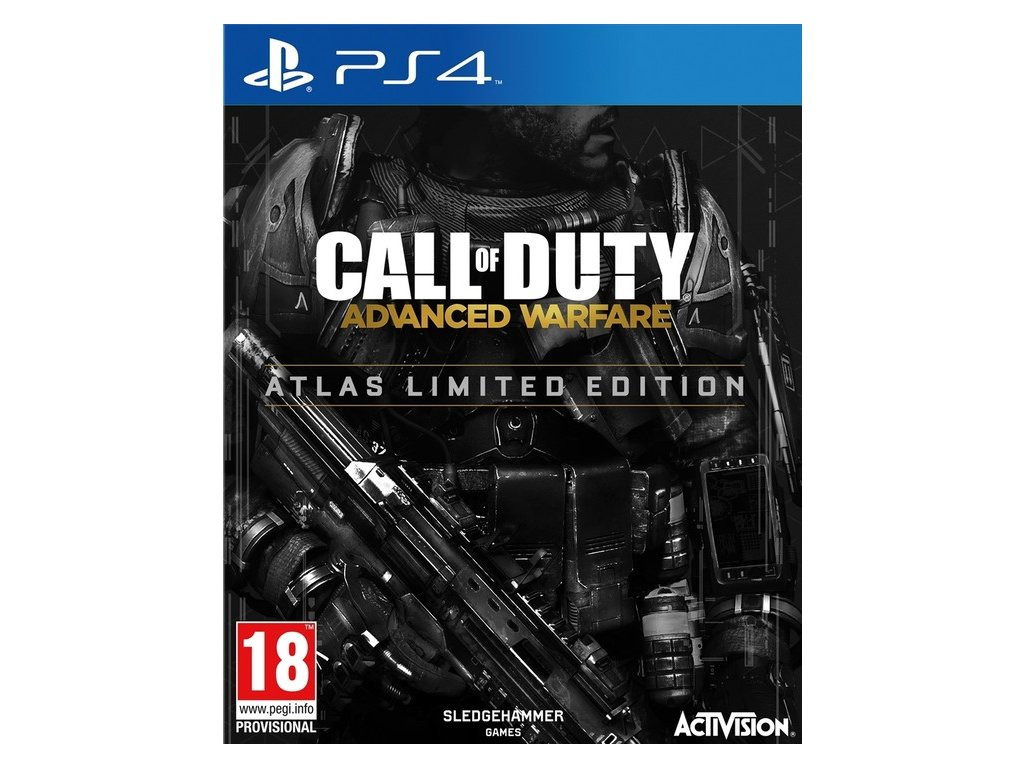 PS4 Call of Duty Advanced Warfare Atlas Limited Edition Steelbook