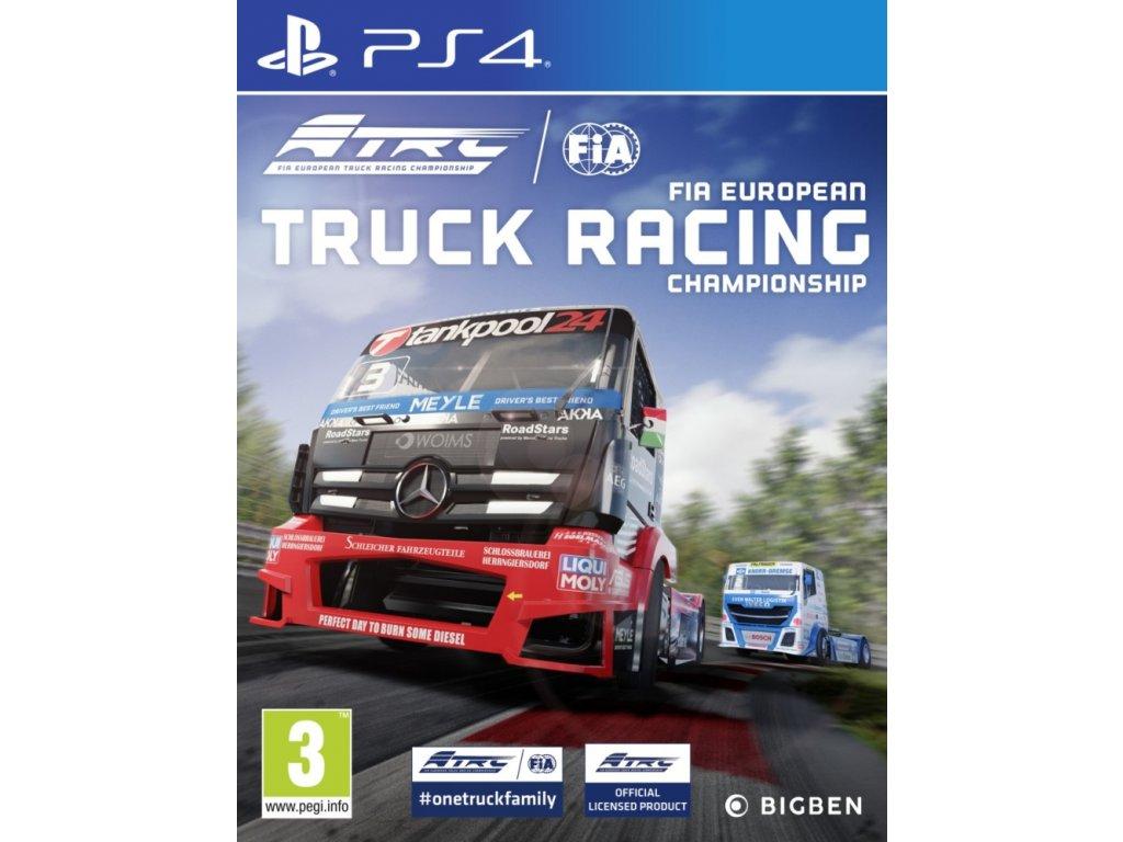 PS4 FIA European Truck Racing Championship N