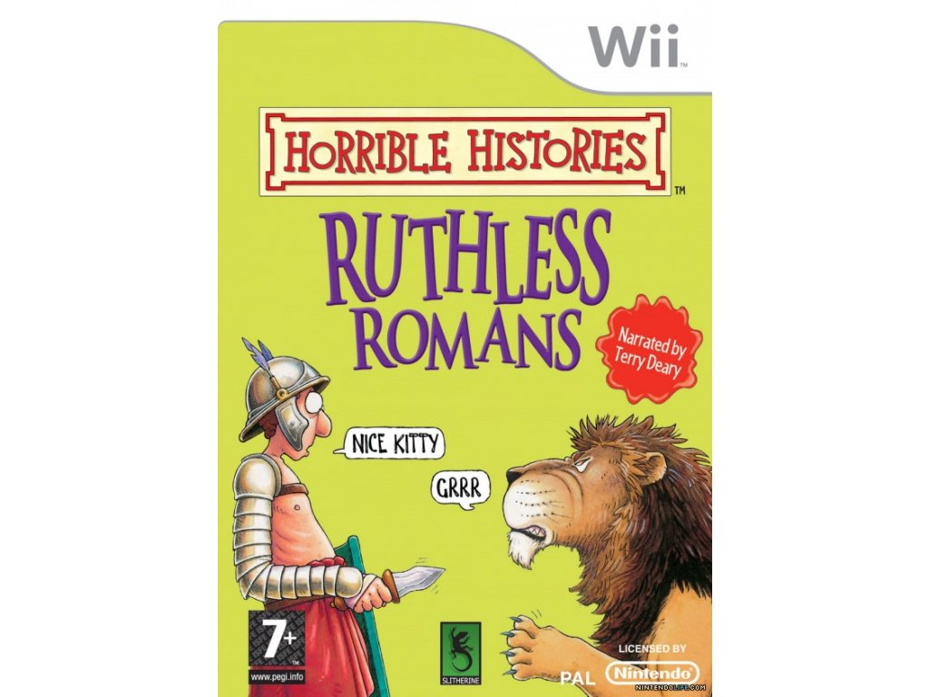 Wii Horrible Histories Ruthless Romans