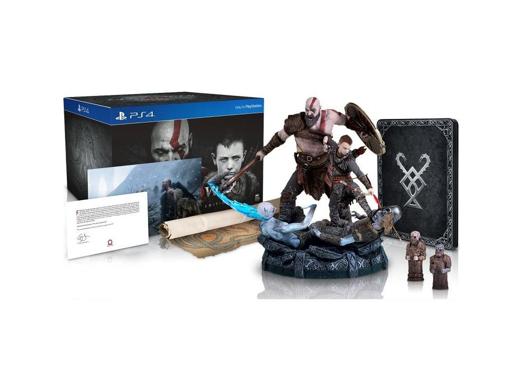 PS4 God of War Collectors Edition N