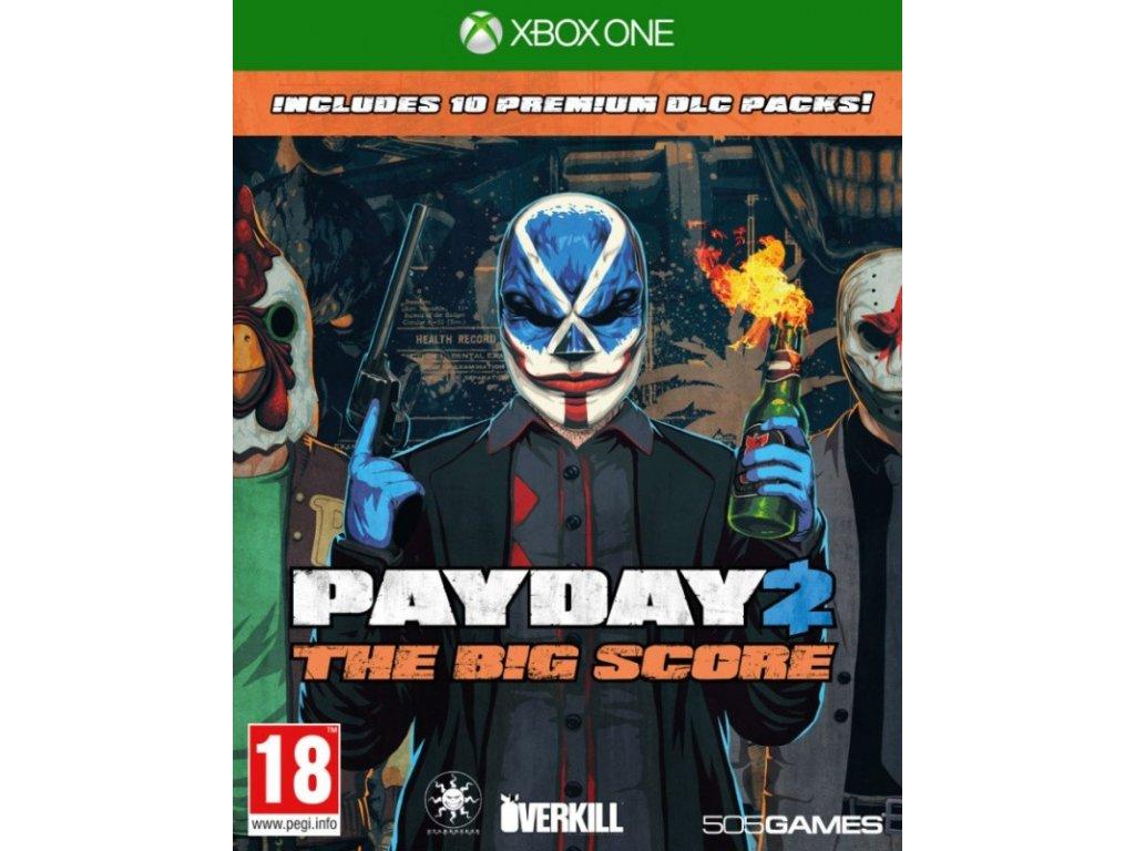 XONE Payday 2 The Big Score