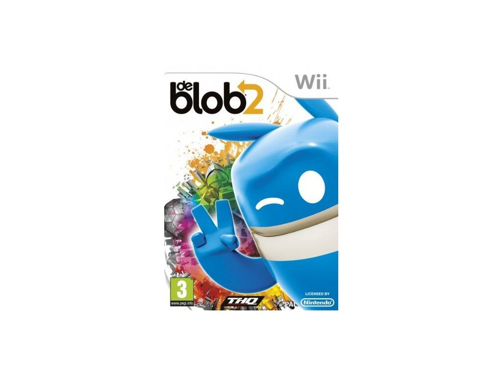 Wii De Blob 2 - jen hra