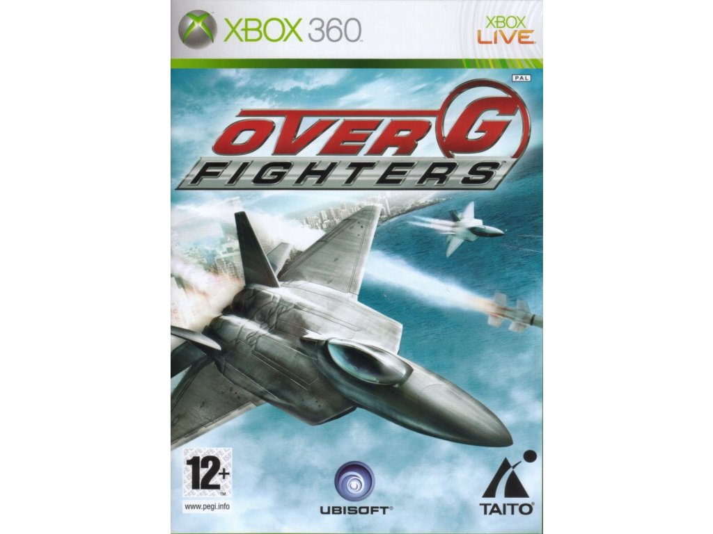 65757 over g fighters xbox 360 front cover