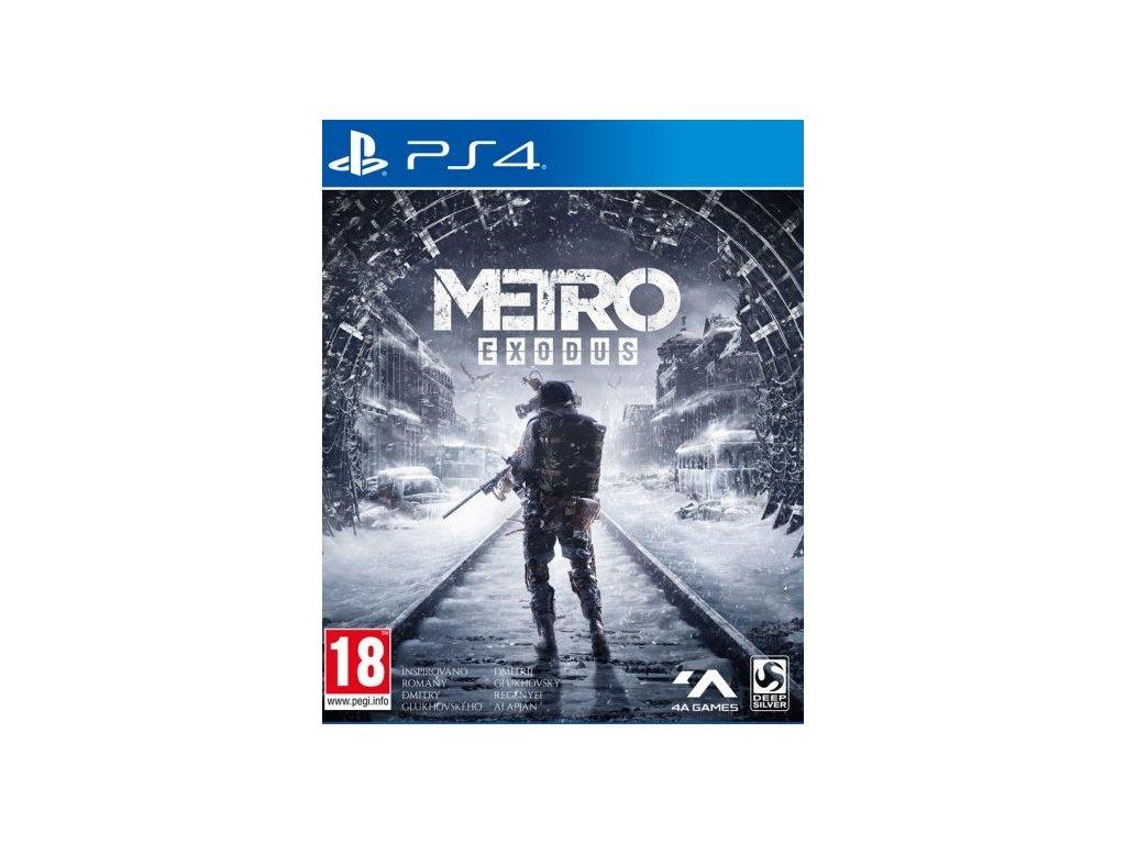 PS4 Metro Exodus CZ