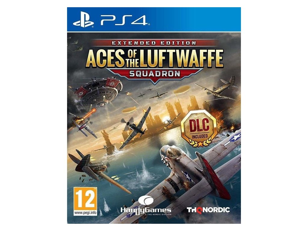 PS4 Aces of the Luftwaffe Squadron Extended Edition