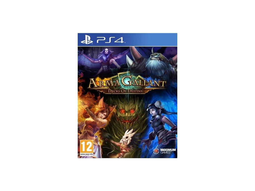 PS4 Armagallant Decks Of Destiny