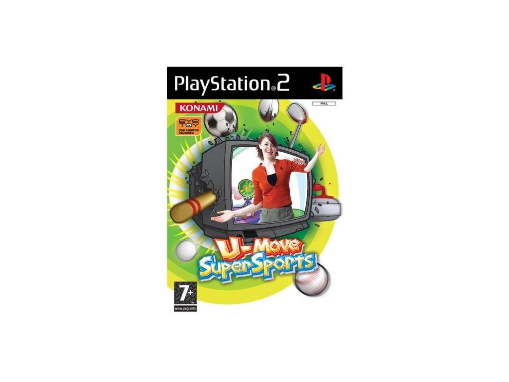 PS2 U Move Super Sports