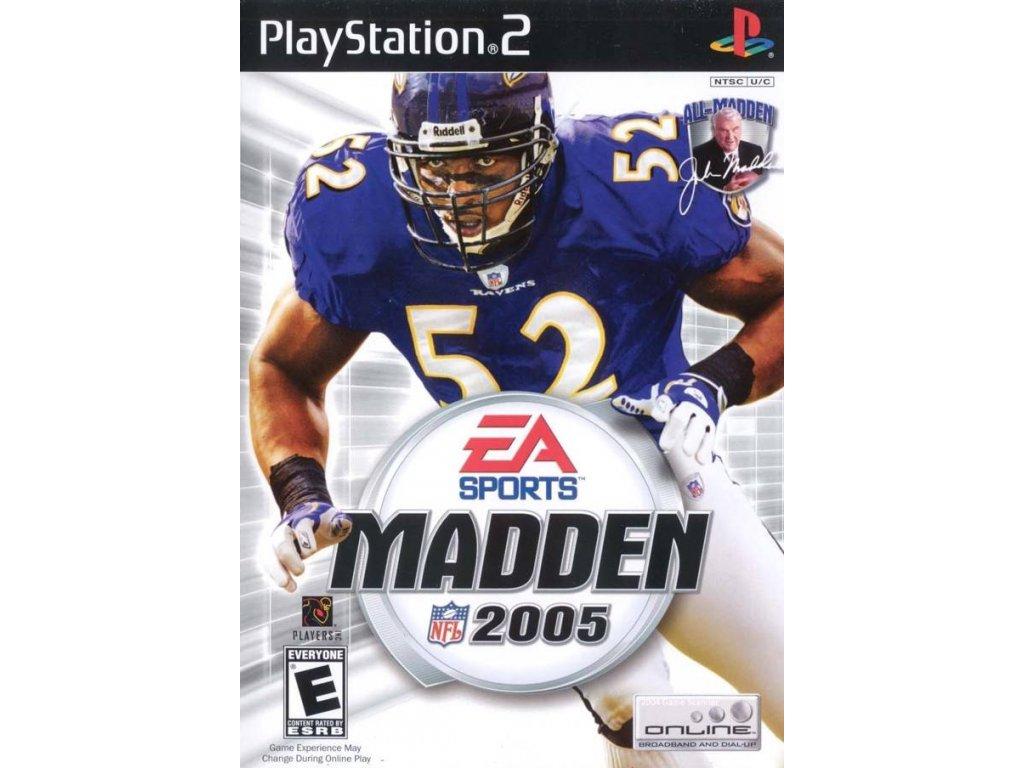 PS2 Madden NFL 2005