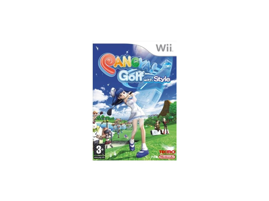 Wii Pangya Golf With Style!
