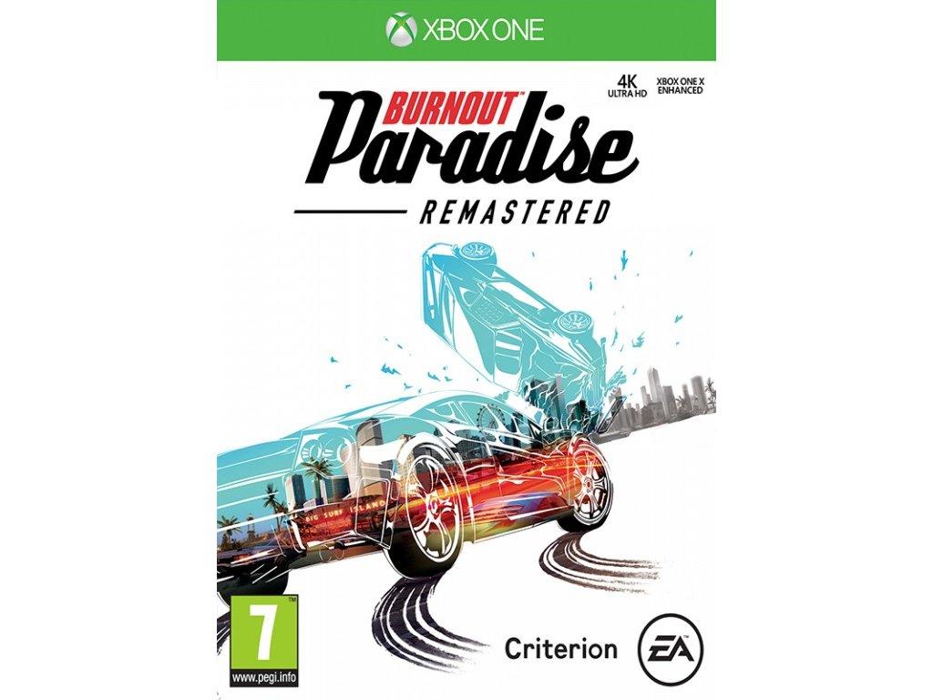 XONE Burnout Paradise Remastered