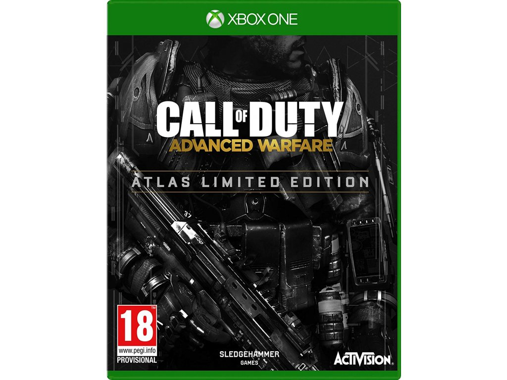 XONE Call of Duty Advanced Warfare Atlas Limited Edition Steelbook