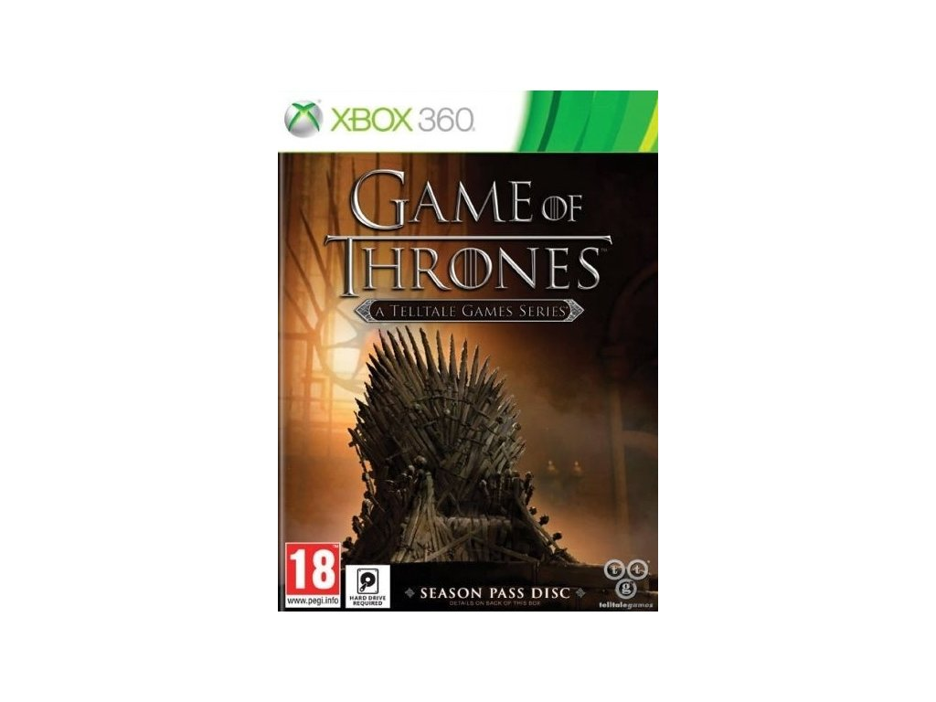 X360 Game of Thrones A Telltale Games Series