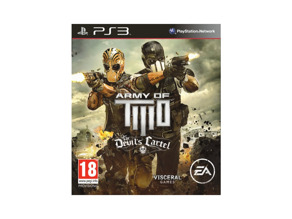 PS3 Army of Two The Devils Cartel