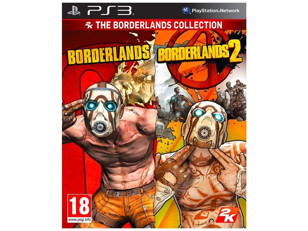 PS3 Borderlands + Borderlands 2 Collection