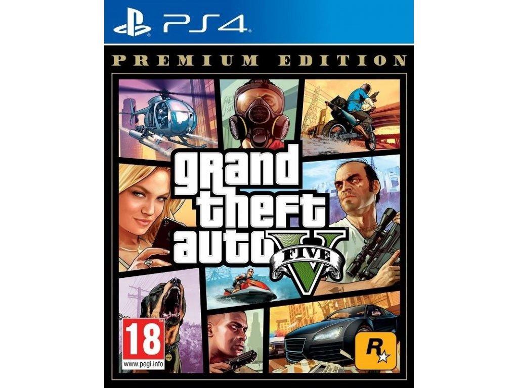 PS4 Grand Theft Auto V Premium Edition (GTA 5)