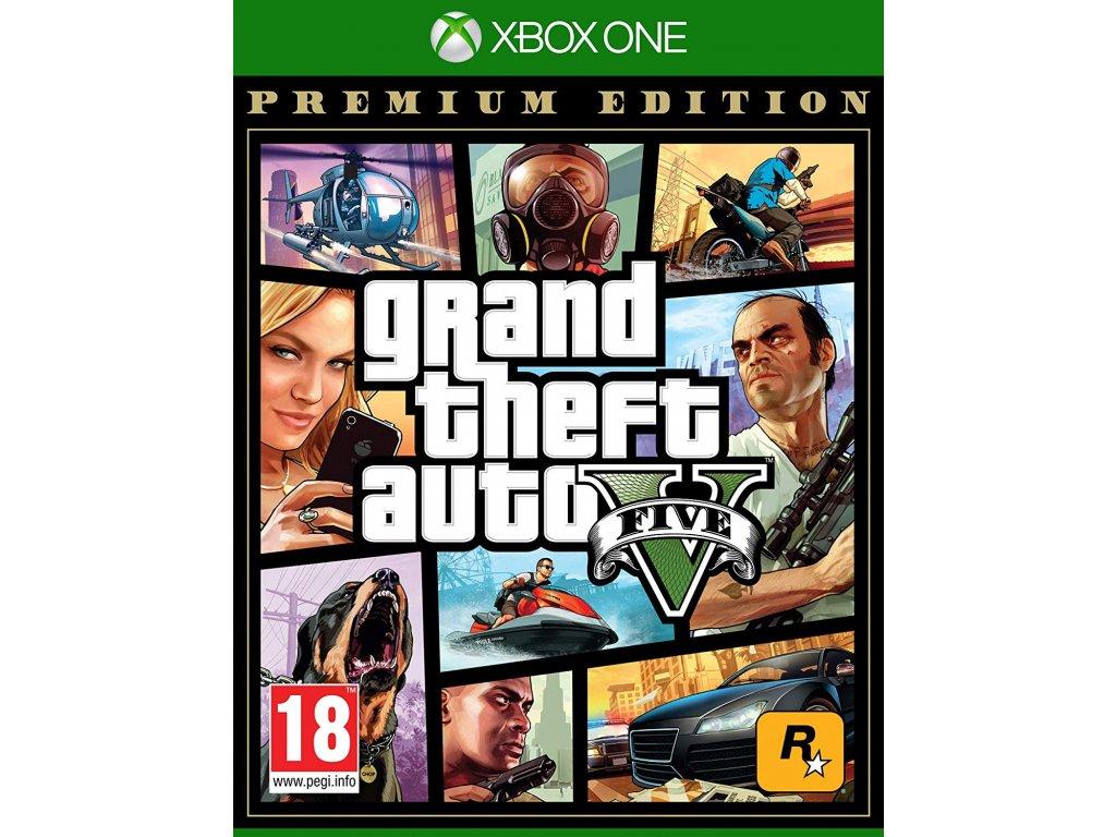 XONE Grand Theft Auto V Premium Online Edition