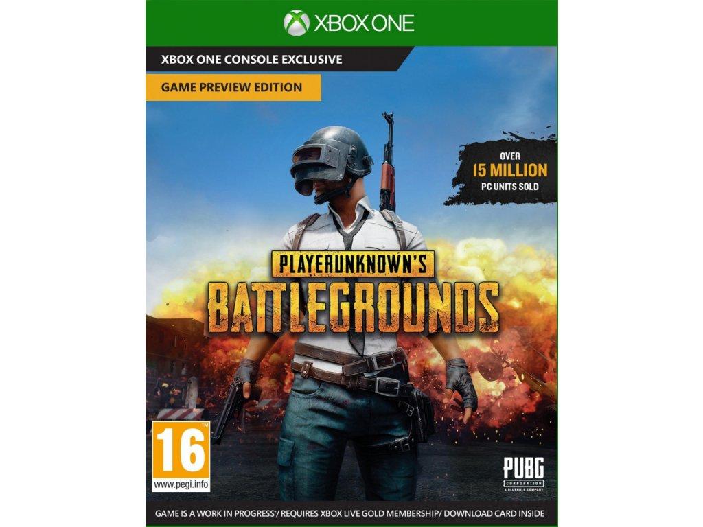 XONE PlayerUnknowns Battlegrounds (PUBG)