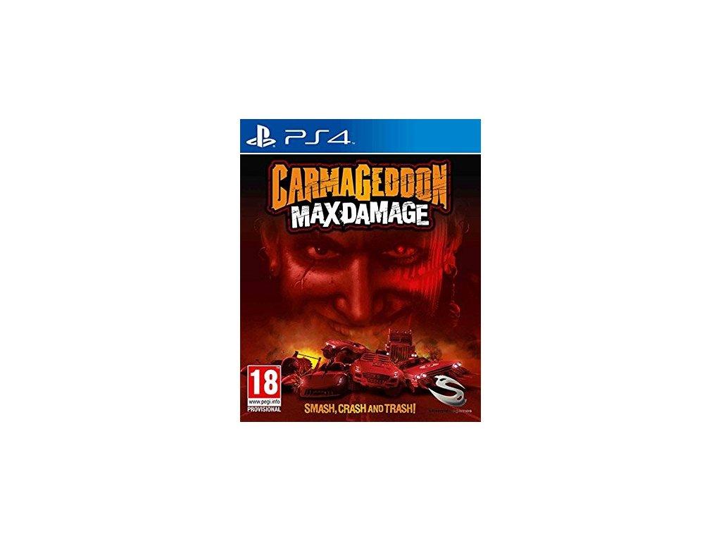 PS4 Carmageddon Max Damage
