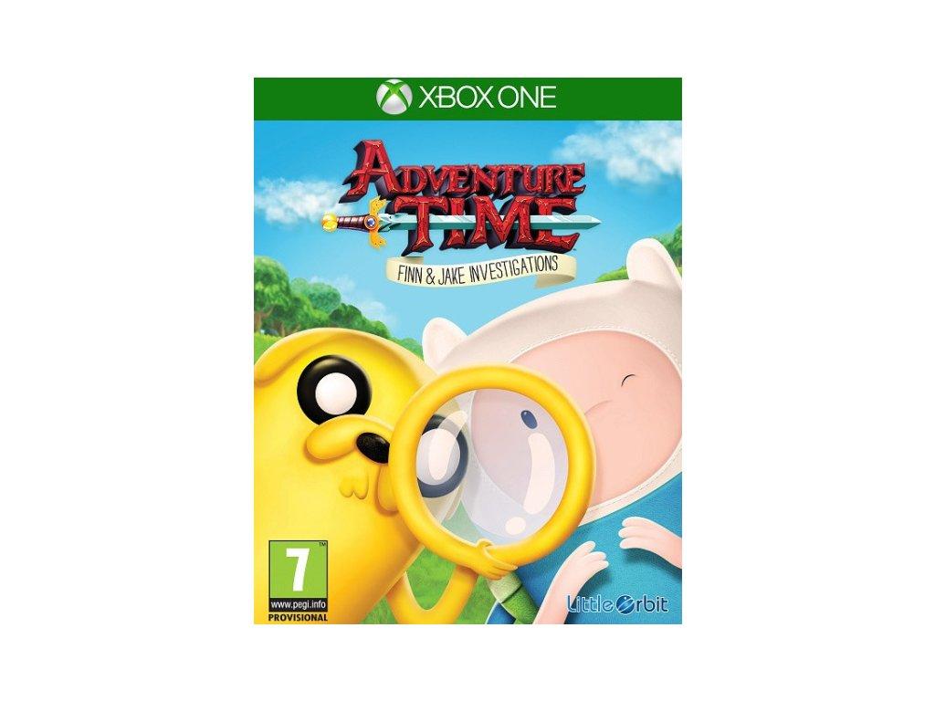XONE Adventure Time Finn and Jake Investigations