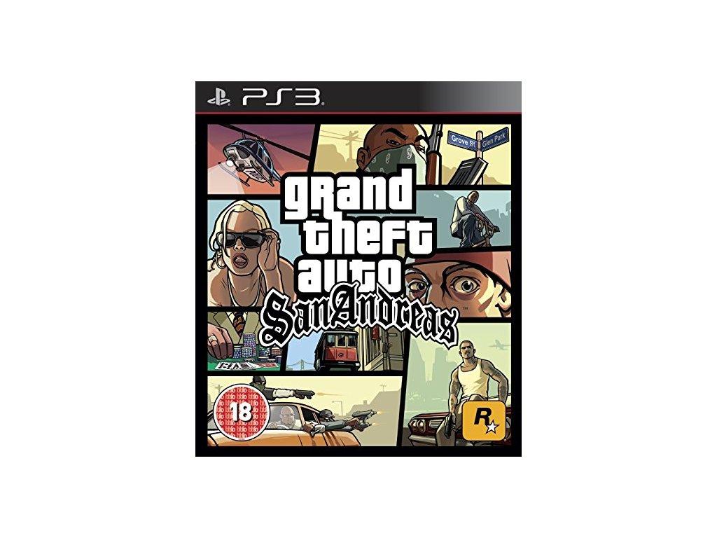 PS3 Grand Theft Auto San Andreas (GTA)