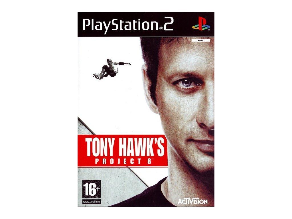 PS2 Tony Hawks Project 8