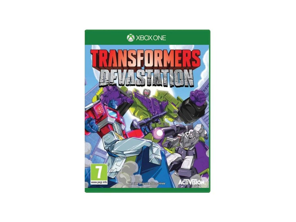 transformers devastation xbox one 328509