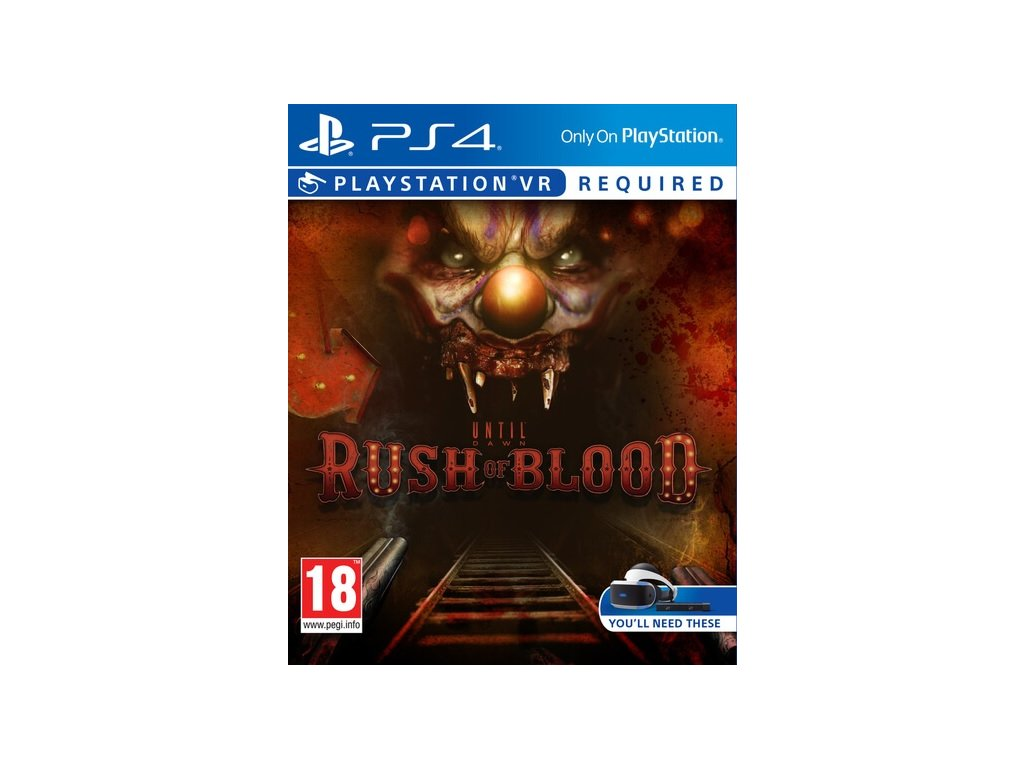 PS4 Until Dawn Rush of Blood