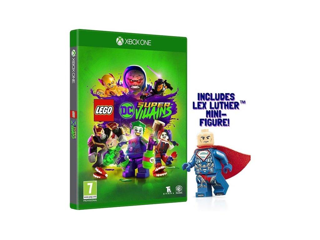 XONE LEGO DC Super Villains + Mini Figure Edition