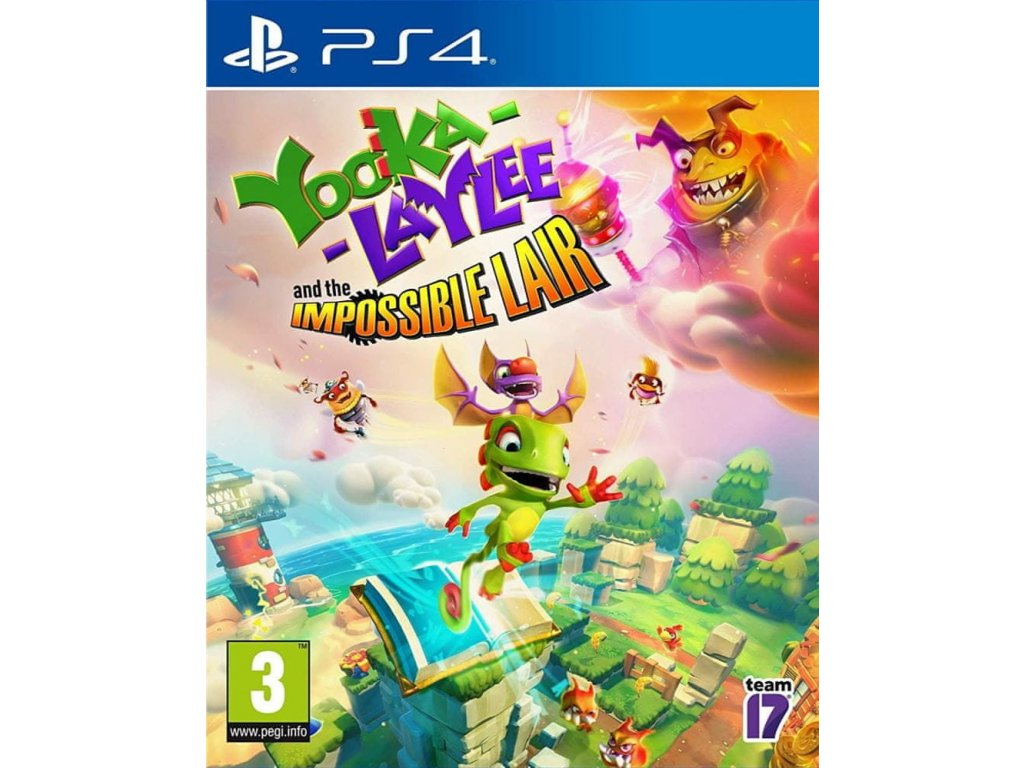 PS4 Yooka Laylee and The Impossible Lair