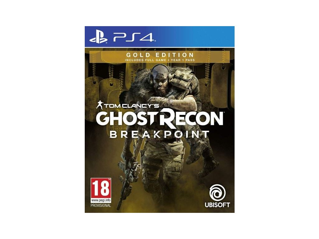 PS4 Tom Clancys Ghost Recon Breakpoint Gold Edition