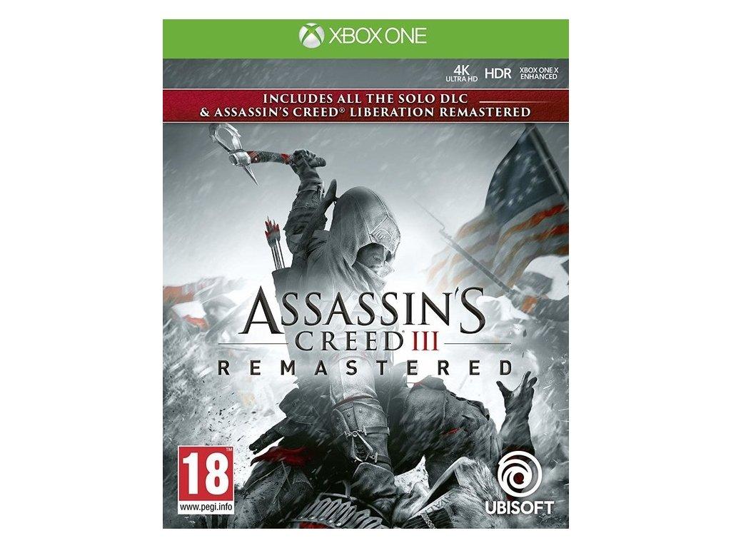 XONE Assassins Creed 3 Remastered