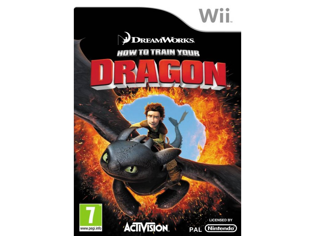 Wii How to Train Your Dragon