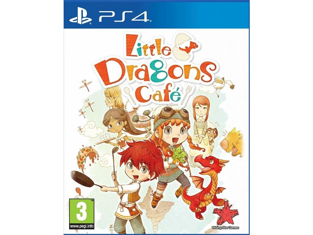 PS4 Little Dragons Cafe