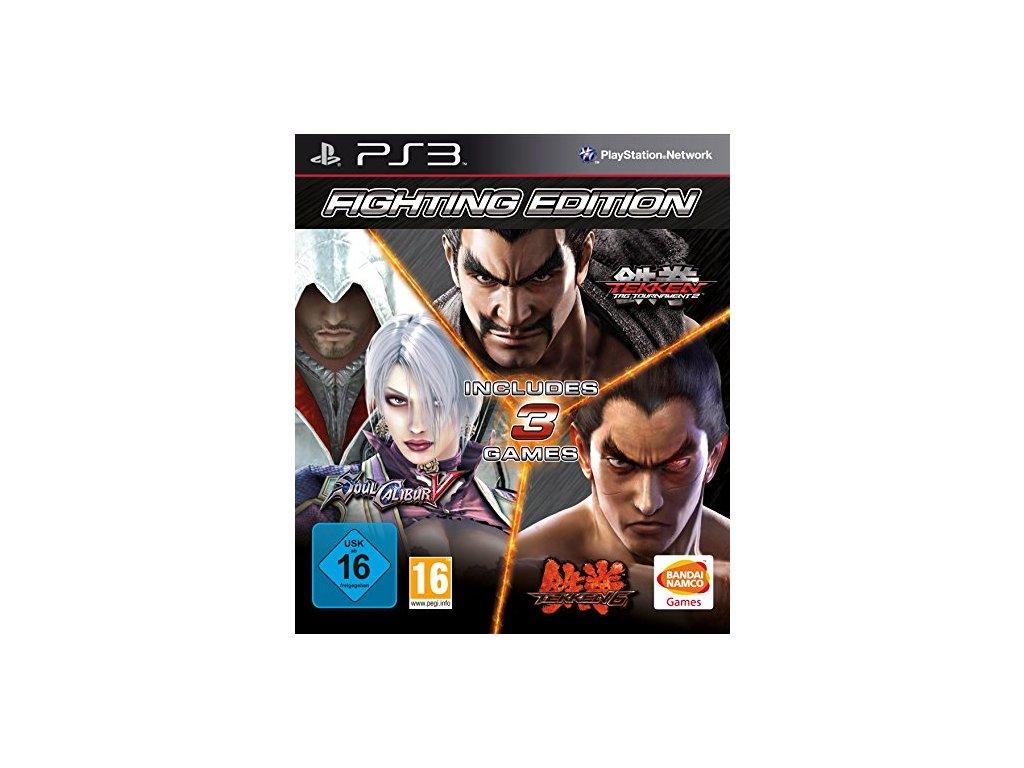 PS3 Fighting Edition Tekken 6 + Tekken Tag Tournament 2 + SoulCalibur 5