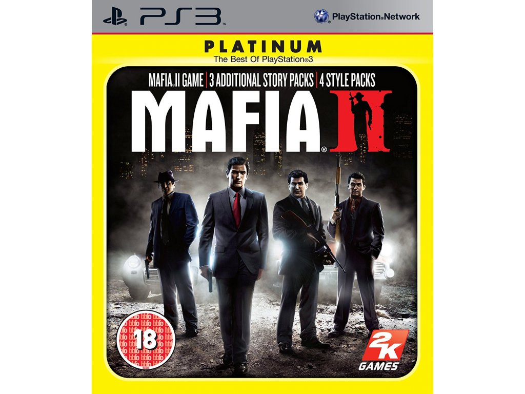PS3 Mafia 2 Special Extended Edition